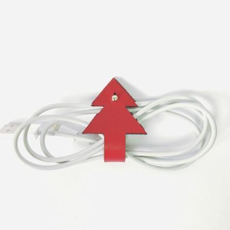 植鞣-真皮 聖誕樹集線器 1