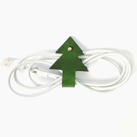 植鞣-真皮 聖誕樹集線器 2