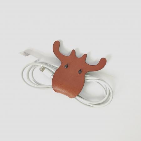 植鞣-真皮 麋鹿集線器 2