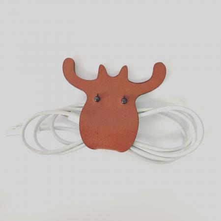 植鞣-真皮 麋鹿集線器 1